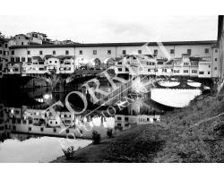 Ponte Vecchio bianco nero