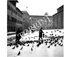 Neve in Piazza San Lorenzo