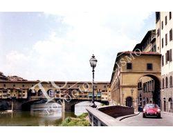 Ponte Vecchio con porsche