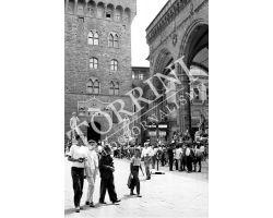 407 Turisti in Piazza  Signoria