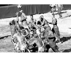 413 Calcio Storico Fiorentino bianco nero