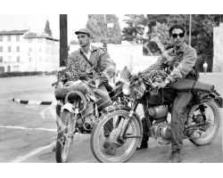 415 Cacciatori in moto