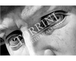 Occhi del David Museo dell\'Accademia