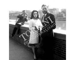 Liz Taylor e Richard Burton  fotografo
