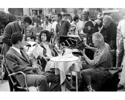Set film al Caffè Rivoire a Firenze