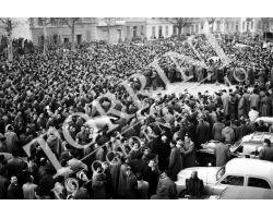 1955 0060 Fiorentina Bologna 1954 55 contestazione dei tifosi