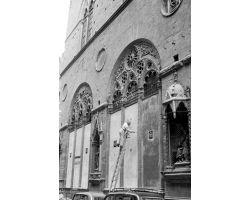 1955 03497 restauro chiesa Orsanmichele