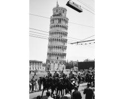 1955 03543 il presidente della Repubblica Gronchi a Pisa
