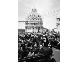 1955 03548 il presidente della Repubblica Gronchi a Pisa