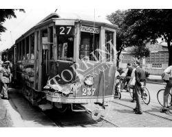 1955 03638  tram ATAF 27  Vingone
