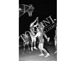 1955 03986 Harlem Globetrotters pallacanesto Basket