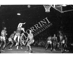 1955 03989 Harlem Globetrotters pallacanesto Basket