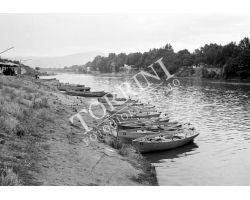 1955 04013 barche in arno