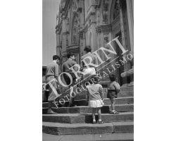 1953 0122  Bambini  Piazza Santa Croce