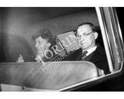 1953 0377 De Gasperi Alcide con moglie