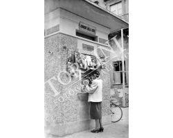 Foto storiche   edicola giornali