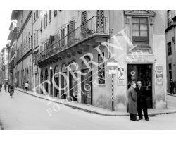 Foto storiche Firenze via della vigna nuova via parione