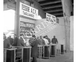 1960 00690 Fiorentina Sampdoria 59 60 ingresso stadio comunale