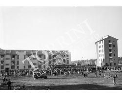 1954 7556 consegna chiavi case Isolotto
