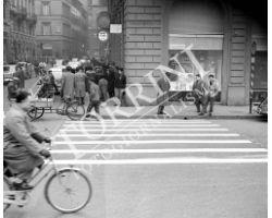 Strisce pedonali piazza repubblica