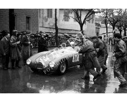 1956 03795 Mille Miglia auto OSCA Maserati  Brandi