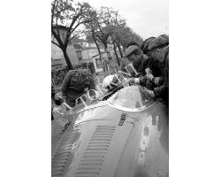 1956 03796 Mille Miglia auto OSCA Maserati  Brandi