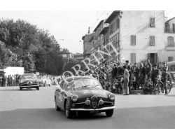 1959 07072 Mille Miglia auto ponte Rosso Alfa Romeo
