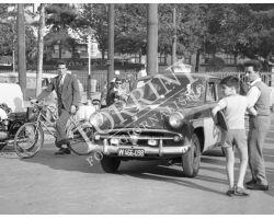 1959 07073 Mille Miglia auto  Via Bolognese