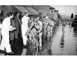 1953 1657 corsa  ciclistica campionato toscano ciclismo