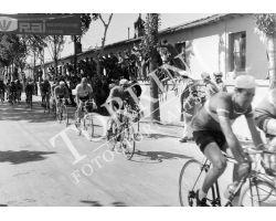 1955 2910 giro d\'Italia tappa Viareggio Perugia ciclismo