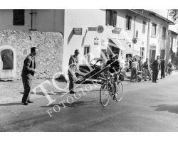 1955 3430 gara ciclistica a Pratolino ristorante Zocchi ciclismo bici