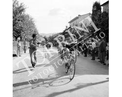 1955 05549 giro della Toscana dilettanti ciclismo