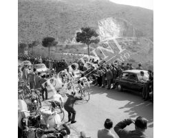 1958 02501 giro della Toscana corsa  ciclismo