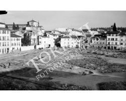 1955 07534 Foto storiche firenze piazza Tasso  san frediano