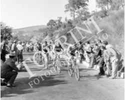 1955 2911 giro d\'Italia tappa Viareggio Perugia ciclismo