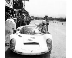 1967 05370 Circuito dei Mugello auto porsche