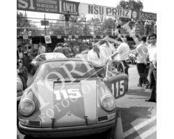 1969 08713 Gran Premio del Mugello a Scarperia auto  porsche
