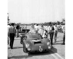 1969 08715 Gran Premio del Mugello a Scarperia auto alfa romeo