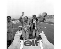 1975 04586 mondiale Marche al Mugello Larrousse Jabouille piloti