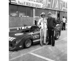 1975 04599 prova mondiale Marche  Autodromo Mugello Merzario pilota