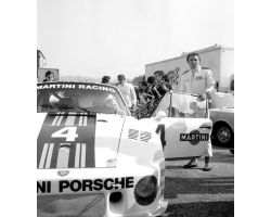 1976 03350 Prova Mondiale Marche al Mugello Jochen Mass auto  porsche