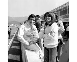 1976 03351 Prova Mondiale Marche al Mugello Jacky Ickx pilota auto