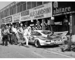 1976 1976 03364 porsche  Prova Mondiale Marche al Mugello auto