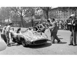 1957 L056 corsa automobilistica 17 Fortezza da Basso Ferrari