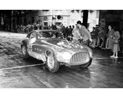 1953 1257 V Coppa della Toscana automobilismo Ferrari foto storiche firenze