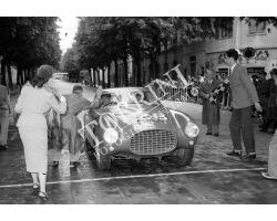 Giro della Toscana automobilismo  Ferrari 928  foto storiche firenze