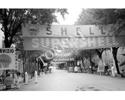 Giro della Toscana automobilismo  shell agip foto storiche firenze