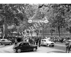 1961 04003 rally della Toscana automobilismo foto storiche firenze