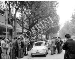 1961 04008 rally della Toscana auto  fiat 600