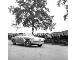 1961 04014 Rally della Toscana Alfa Romeo automobilismo